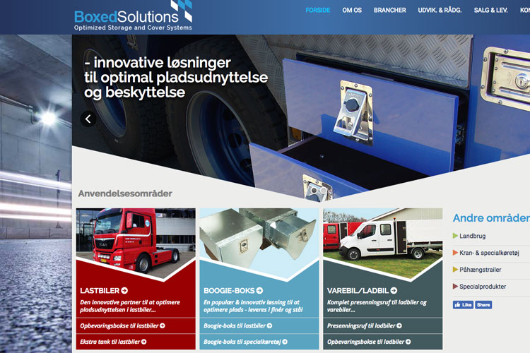 boxedsolutions website